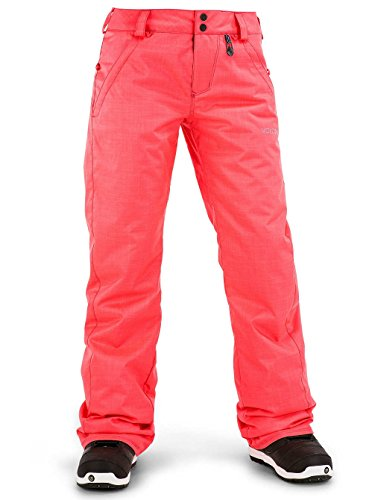 Volcom Snow Women's Frochickie Insulated Pants Electric Pink Pants XXS (US 00) X 28