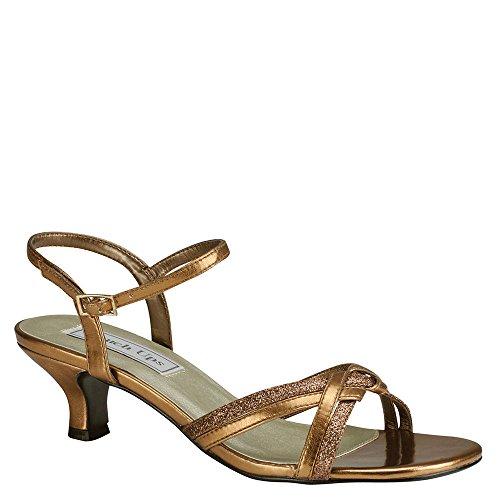 Touch Ups Melanie Women's Sandal 10.5 C/D US Bronze