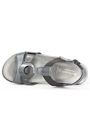 Grünland DORA SE0067 zapatos de color beige mujer plantilla extraíble Nero