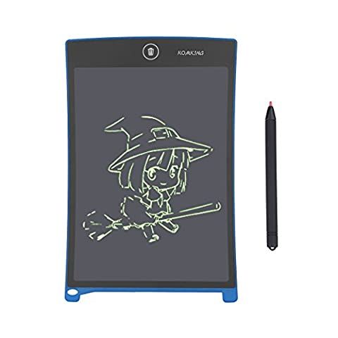 Komking 8.5inch LCD Graphic Writing Tablet,Durable Drawing and Writing Board Gift for Kids Office Writing Board - 9 Junior Liquid