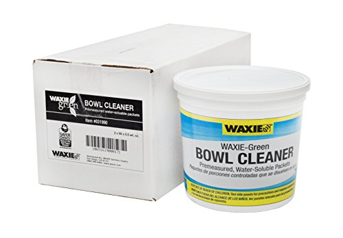 WAXIE-Green Toilet Bowl Cleaner, 0.5 oz Water-Soluble Packet (Case of ()