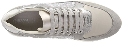 discount visit Geox Women's D Gendry B Trainers Silver (Lt Silver/Silver C1n1w) sneakernews for sale TRc6PVAxEd