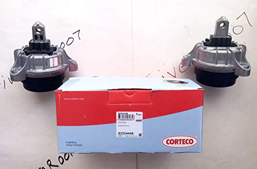 (2) CORTECO Engine Motor Mount Fits BMW 2012 2013 2014 2015 2016 (528i ONLY) NOT For xDrive