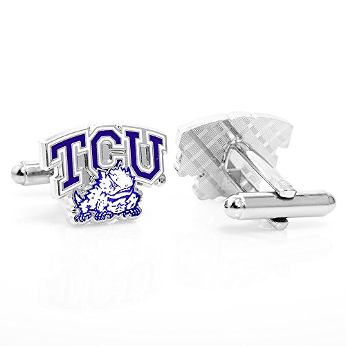 NCAA Mens TCU Horned Frogs 3-Piece Gift Set by Cufflinks