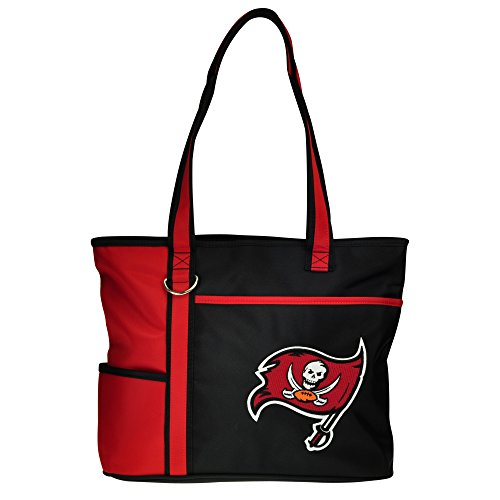 NFL Tampa Bay Buccaneers Tote Bag with Embroidered Logo ()