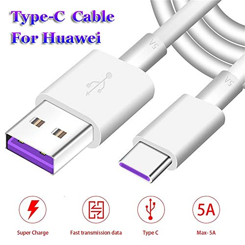 Type C USB-C Date Sync Charger 5A Fast Charging Cable for Huawei P20 Lite Pro P10 Mate 10 (2m) by OUTOPEN (Image #5)