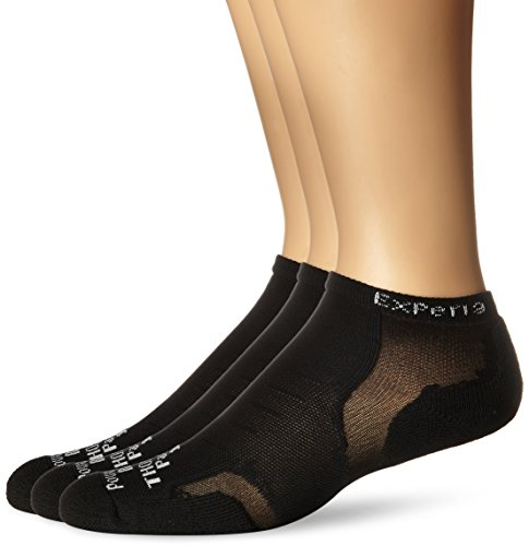 Socks Low Athletic (Thorlos Experia Unisex XCCU Multi-Sport Thin Padded Low Cut Sock, Black (3 Pack), Small)