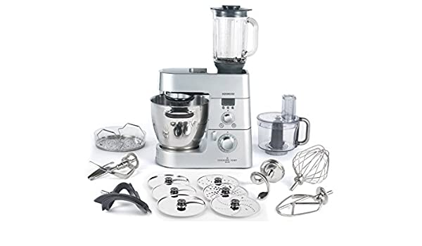 Kenwood KM086 - Robot de cocina (Plata, Acero inoxidable, Mezcla ...