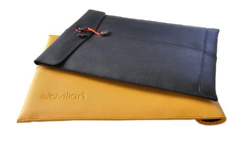 - Civilian Manila Leather Sleeve for 11-Inch MacBook Air, Black