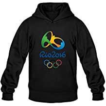 Rio 2016 Olympic Games 100% Cotton Hoodies For Mens Newest Hoodies