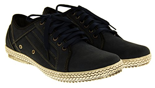 Footwear Studio - Náuticos para hombre azul - azul marino