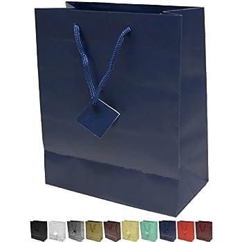 Amazon Com Benecreat 30 Pack Dark Blue Kraft Paper Bags