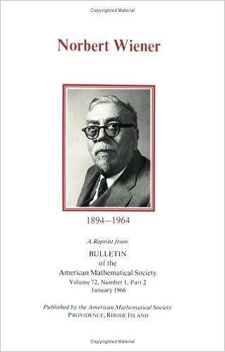 Norbert Wiener, 1894-1964 (Nw)