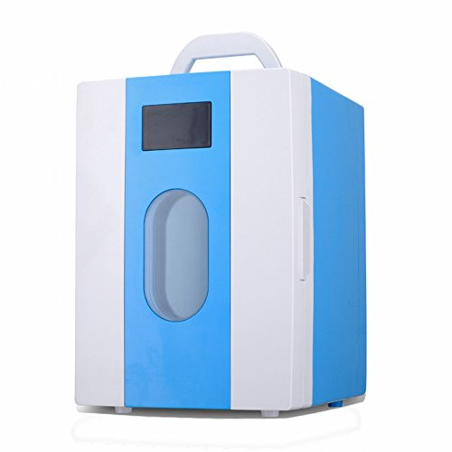 Refrigerador Del Coche Mini Refrigerador Pequeño con el Refrigerador Refrigerador Caliente Y Frío de la Casa Del Coche Uso Dual Alumno Dormitorio Frigorífico Puede Ser Enfriado / Calefacción,Azul bl by HOMEE @