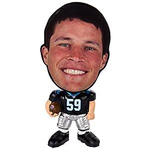 NFL Carolina Panthers Luke Kuechly Unisex Kuechly L. #59 Flathlete Figurine, One Size