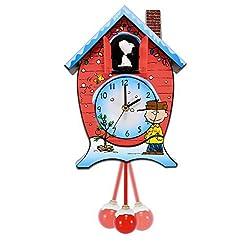 Mark Feldstein CKPNX Peanuts Christmas Cuckoo Clock by Mark Feldstein & Associates, Inc