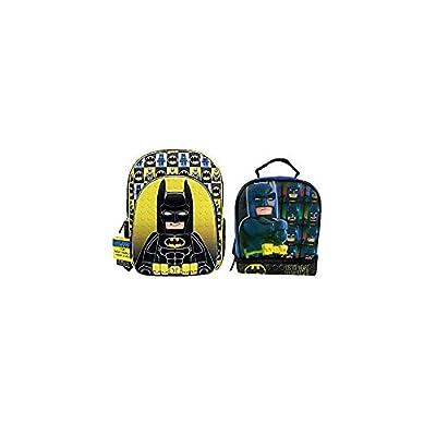 good Lego Batman Large Backpack & Lunch-bag
