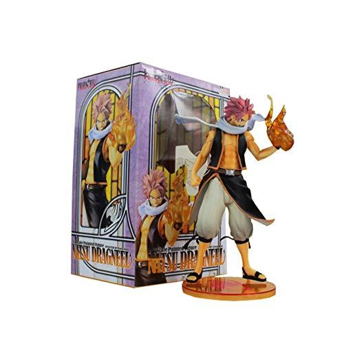 Ashland   Kids Toys - Fairy Tail Natsu 1/7 Scale Action Figure PVC Collection Figures Toys with Box - Pvc Box Figure