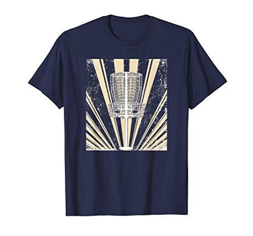 Sunburst Basket - Disc Golf Basket Tan Sunburst T-Shirt