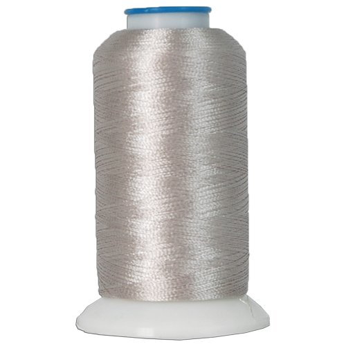 Thread Rayon Embroidery Wt 40 (Rayon Embroidery Thread No. 414 - 1000M - SILVER GREY)