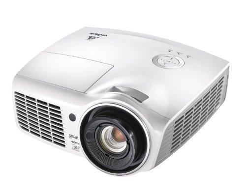 Vivitek 1080p 3D DLP Home Theater Projector White H1180HD