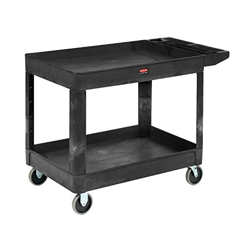 Rubbermaid Computer Carts - RCP450088BK - Rubbermaid Heavy-Duty Utility Cart
