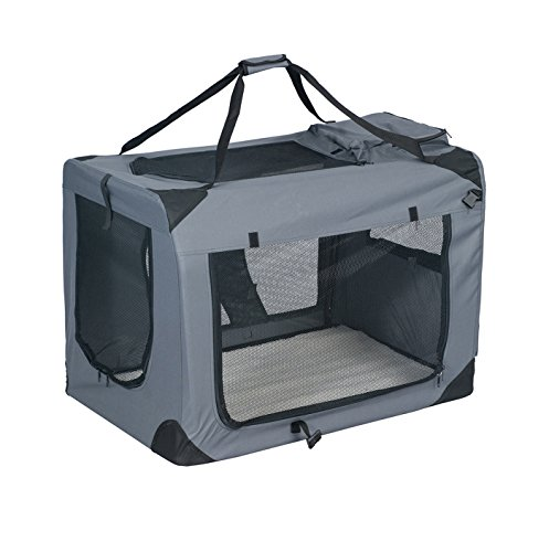 BuyHive Pet Carrier Travel Tote Dog Crate Portable Cat Puppy Carrying House Training Kennel