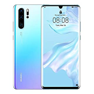 Huawei P30 Pro 128GB+8GB RAM (VOG-L29) 40MP LTE Factory Unlocked GSM Smartphone (International Version) (Breathing Crystal)
