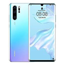 Huawei P30 Pro 128GB+8GB RAM (VOG-L29) 40MP LTE Factory Unlocked GSM Smartphone (International Version) (Breathing Crystal)