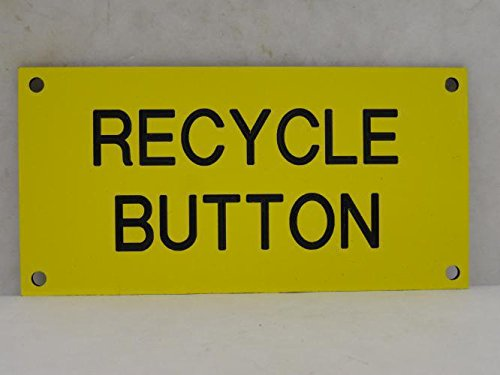 Formax 6000-6060 Recycle Button Legend Plate 4