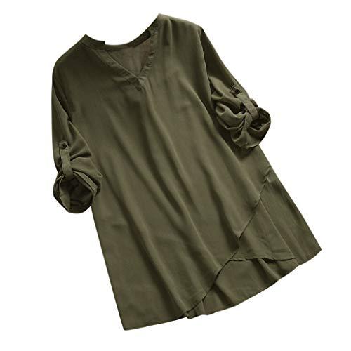 Mebamook Women Summer Shirts for Women Vneck Shirts for Women Workout Shirts for Women Green Boys Slim Boat Races