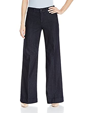 NYDJ Women's Greta Trouser Jeans In Premium Denim at Amazon ...