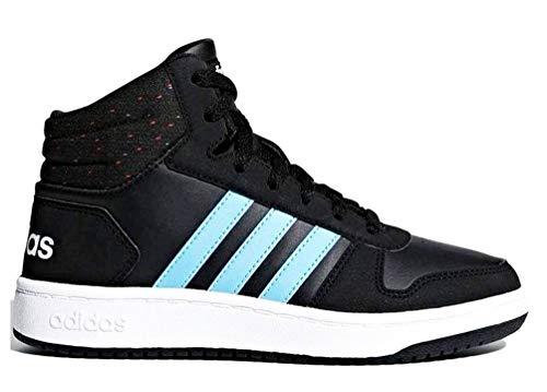 Gymnastique Mixte 000 De Adidas K Chaussures 0 Enfant 2 Noir Vs negro Hoops Mid O1qw1x8az