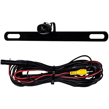 41a5SVio%2BhL._SL500_AC_SS350_ amazon com metra license plate back up camera black car metra backup camera wiring diagram at webbmarketing.co