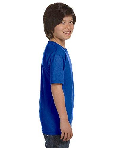 Gildan Dryblend Youth T-Shirt, Royal, Large