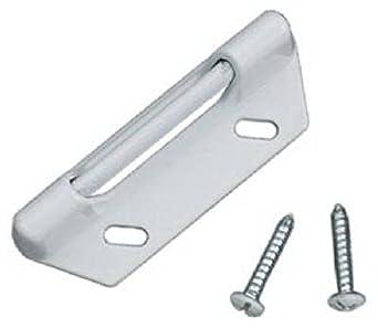 Wright (V777STWH) - Lote de 2 placas de freno para todo tipo de cerraduras: Amazon.es: Amazon.es