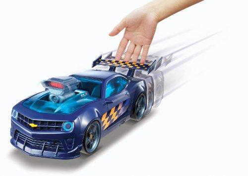 Turbo - Chevy Camaro, coche con lanzador (Mattel Y8351): Amazon.es: Juguetes y juegos