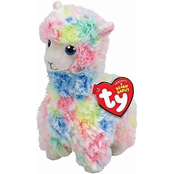"Lana llama TY Beanie Babies  Plush stuffed animal 8/"" small New with Tags"