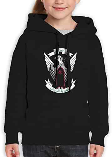 DTMN7 Coat Of Arms Of S/Ã/£o Tome and Pr/Ã/­ncipe Fashion Printed Long Sleeve Pullover For Youth Spring Autumn Winter