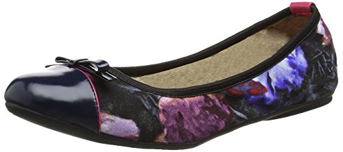 Donna Twists Cara Raspberry Ballerine Butterfly Multicolore qt8n0vH