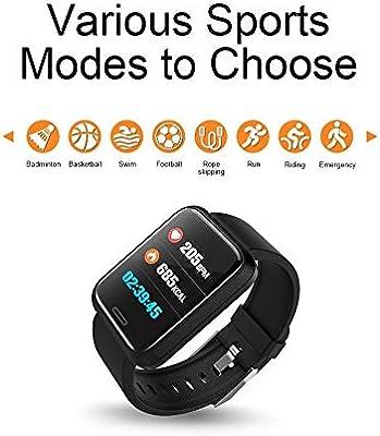 Reloj Inteligente Bluetooth, ACCEWIT Smartwatch Pantalla a Todo ...