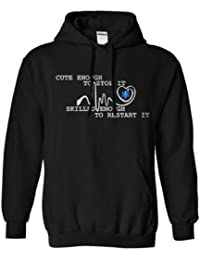 Adults Cute Enough Emt Hoodie