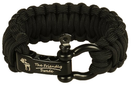 Friendly Swede Paracord Stainless Adjustable