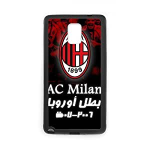 Club football ac milan Printing Protective Cover Samsung Galaxy Note 3 Case Carcasa Negro Galaxy Note 3 Case