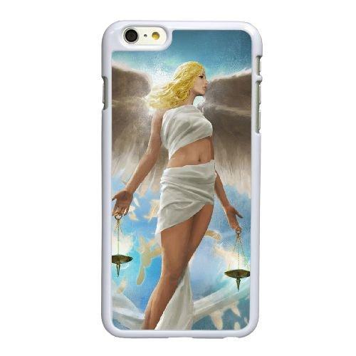 A7W41 ange B6K2IG coque iPhone 6 Plus de 5,5 pouces cas de couverture de téléphone portable coque blanche KV6OWK8PF
