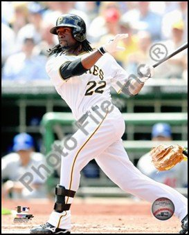 Andrew McCutchen 2010 Action Art Poster Print Unknown