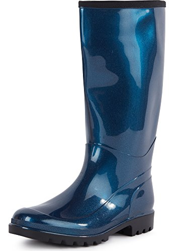 Ladeheid Damen Gummistiefel LABN130-1 Blau