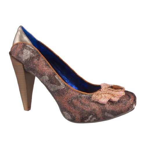 Poetic License Women's Court Shoes Brown Lc3zpIuAz