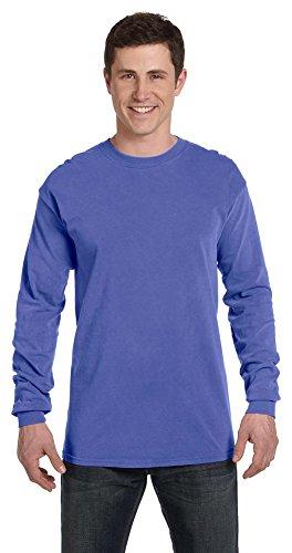 Comfort Colors Ringspun Garment-Dyed Long-Sleeve T-Shirt, Medium,