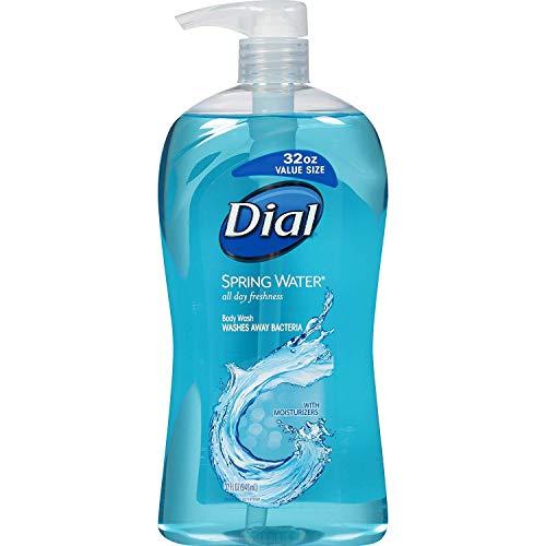 Dial Body Wash Spring Water, 35 fl.oz, 2 Piece Dial Spring Body Wash
